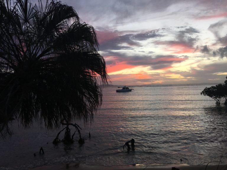 Australia sunset view
