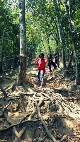 hiking in Bukit Keluang
