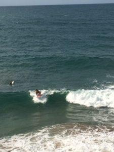 Australia beach waves