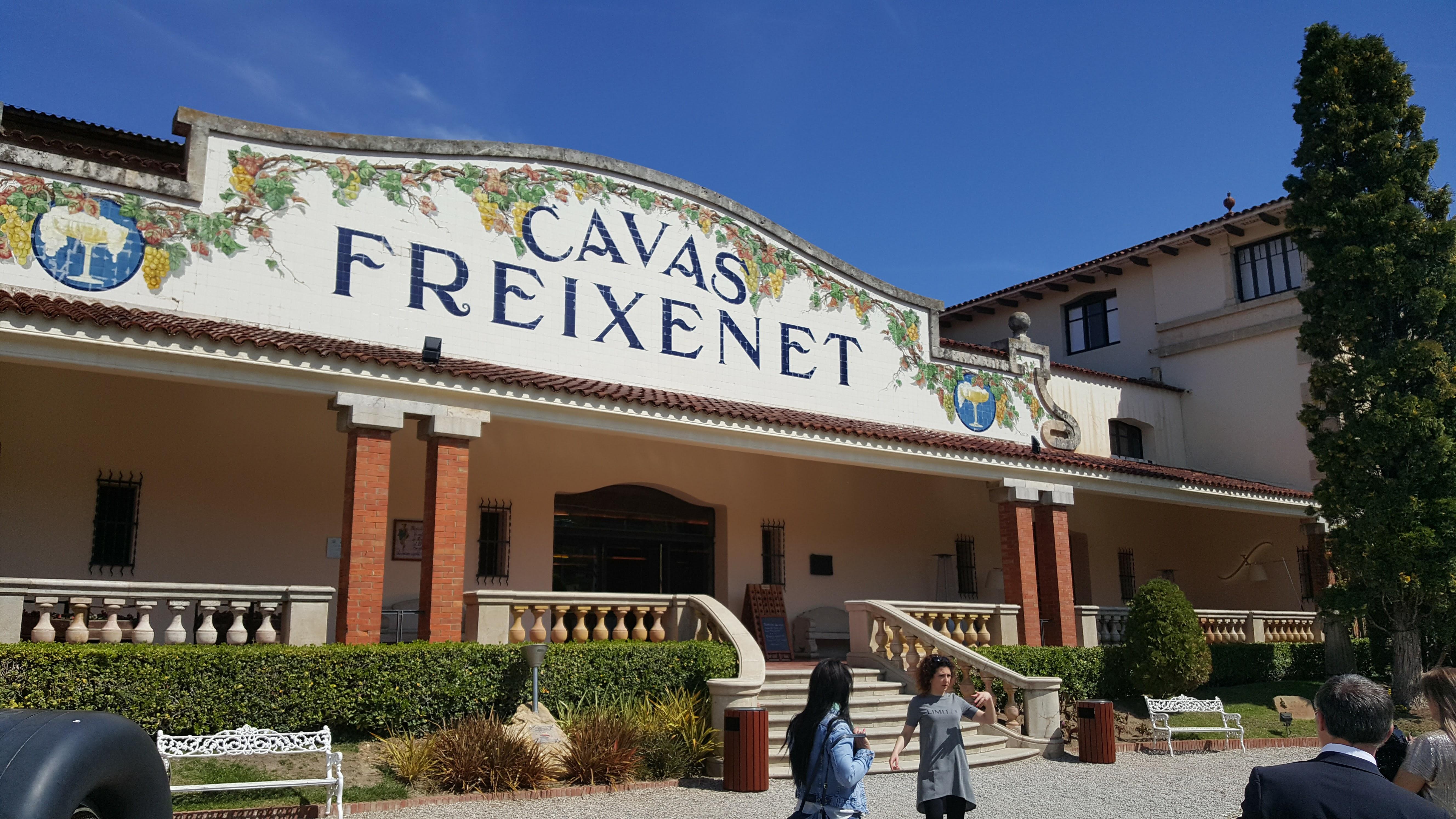 Freixenet Winery, Barcelona, Spain