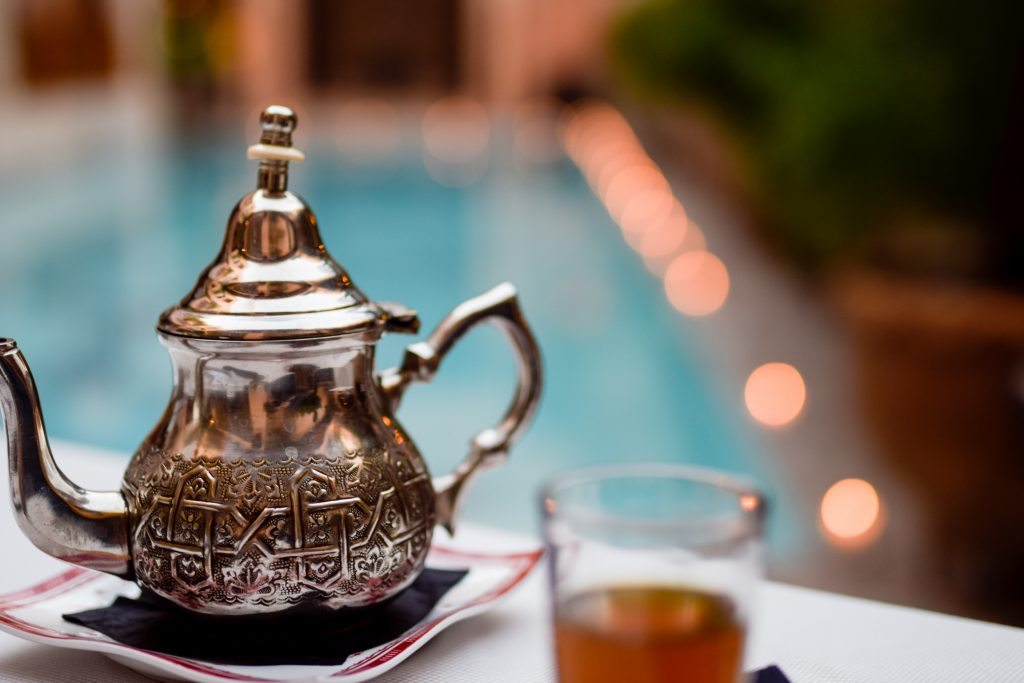 tea in Marrakesh
