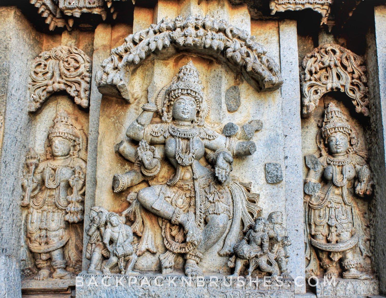 Temple photos exploring India