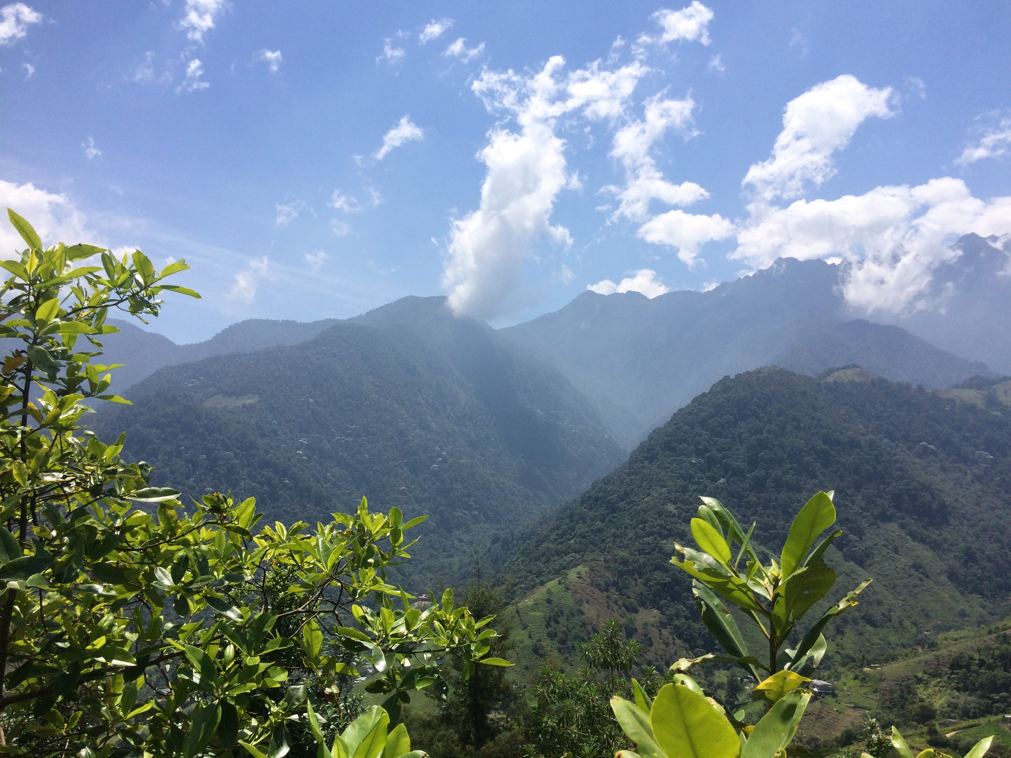 mountains in Cali, Colombia