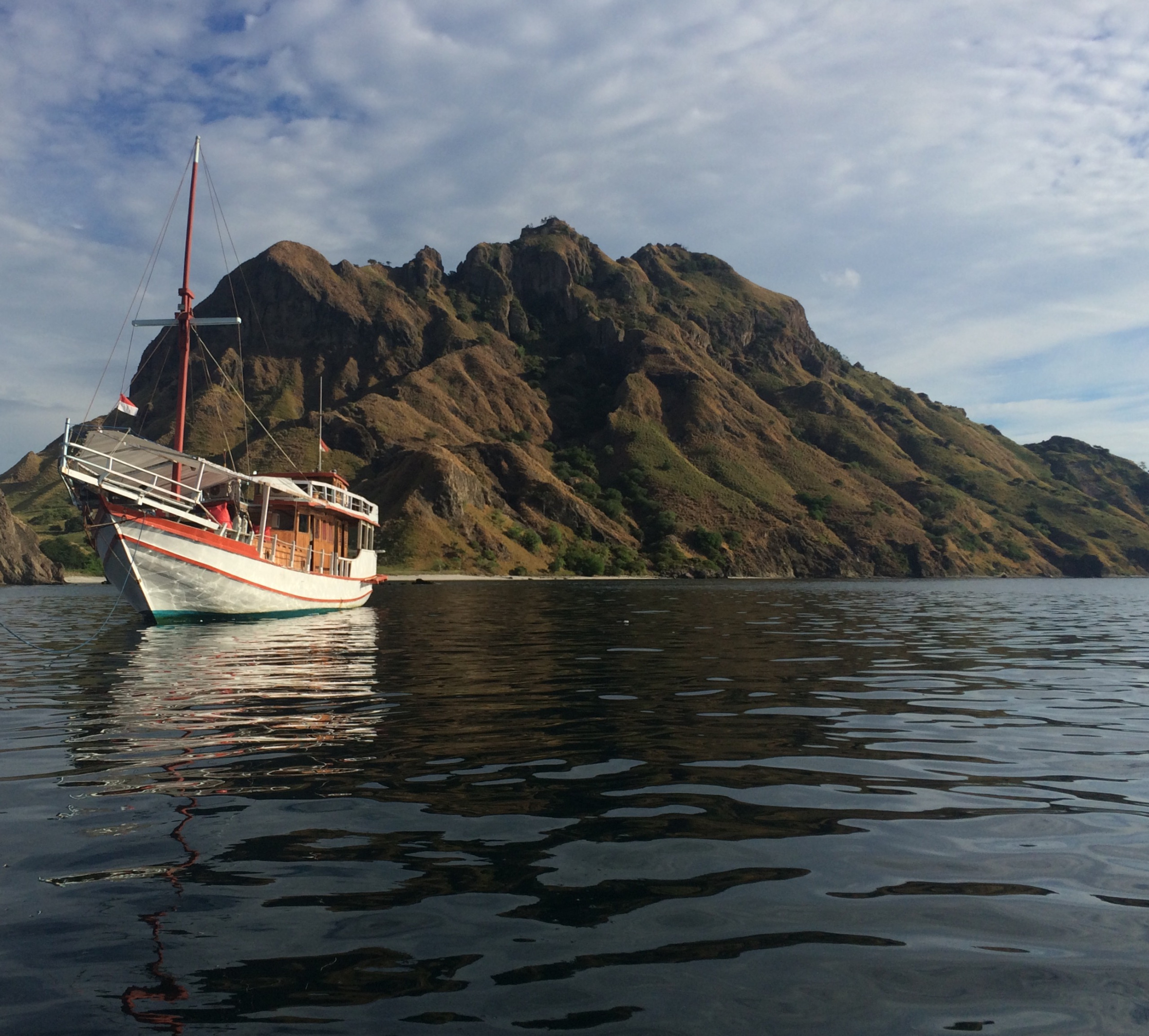 boating in Komodo Islands