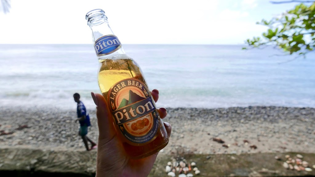 Piton Beer St. Lucia