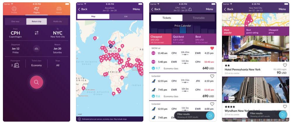 Momondo Travel App