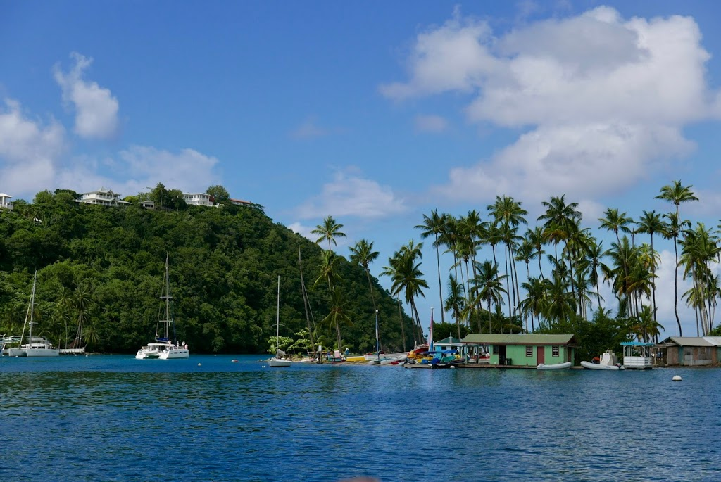 boating in St. Lucia