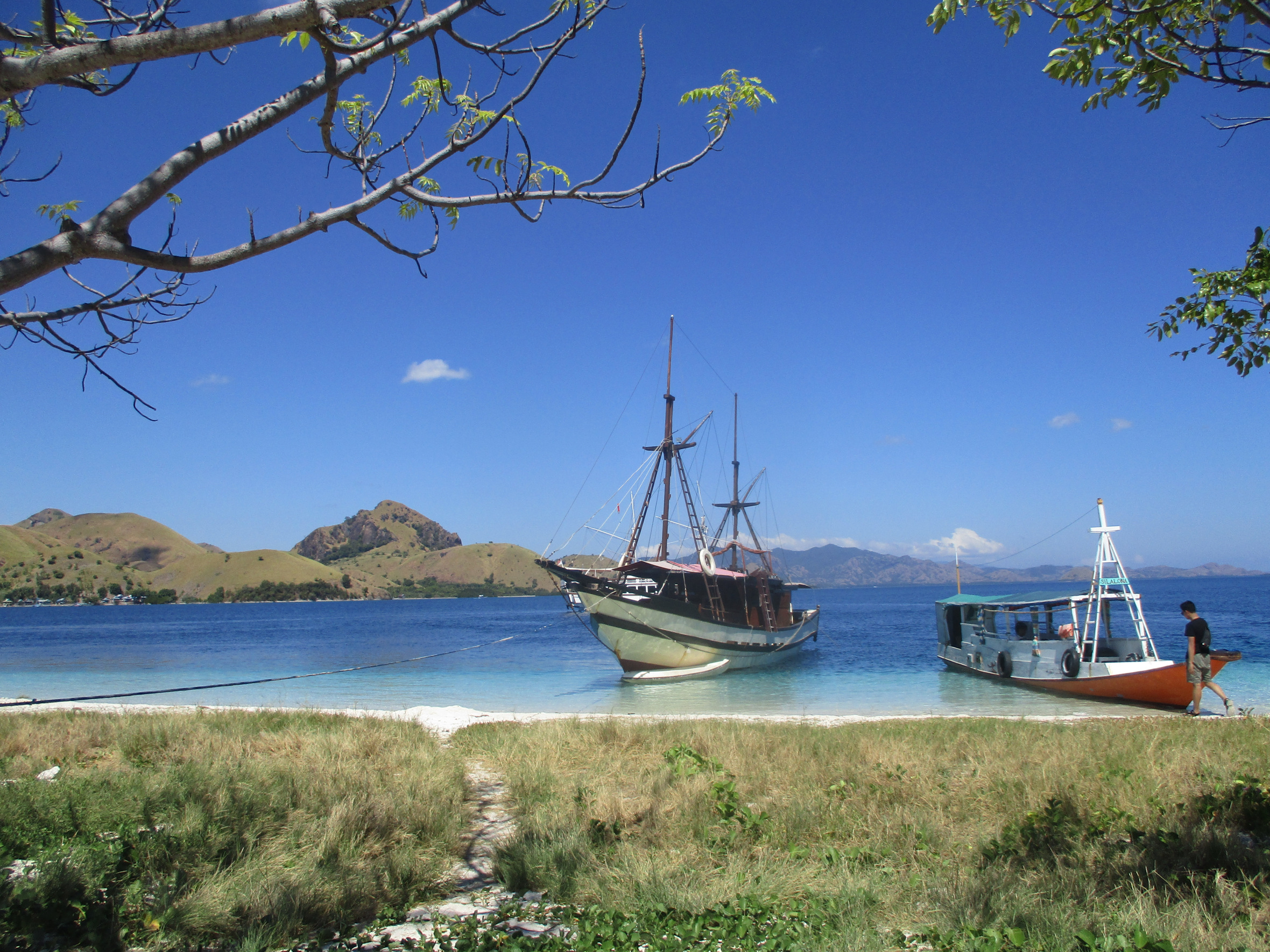 boats in Komodo Islands