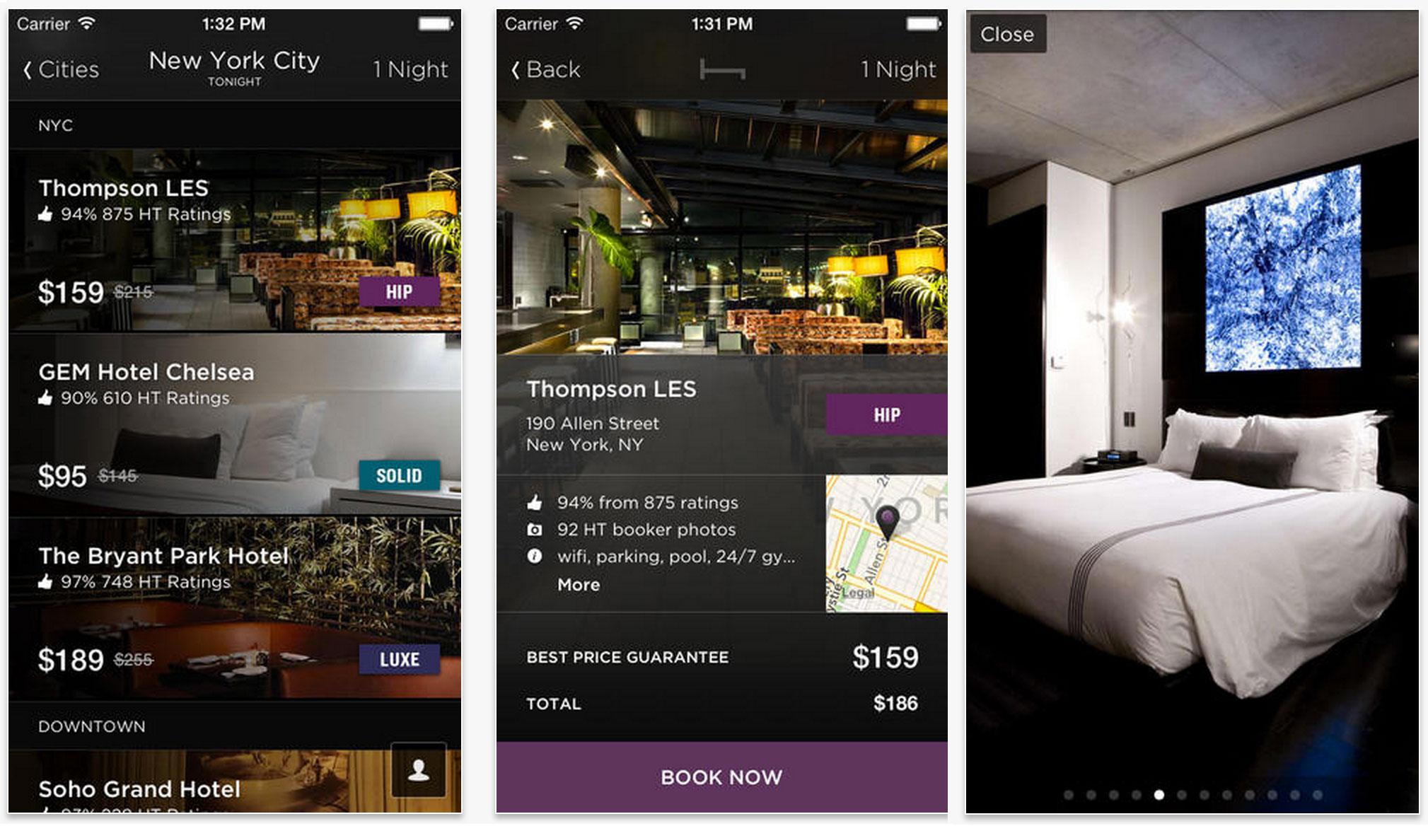 Hotel Tonight Travel app