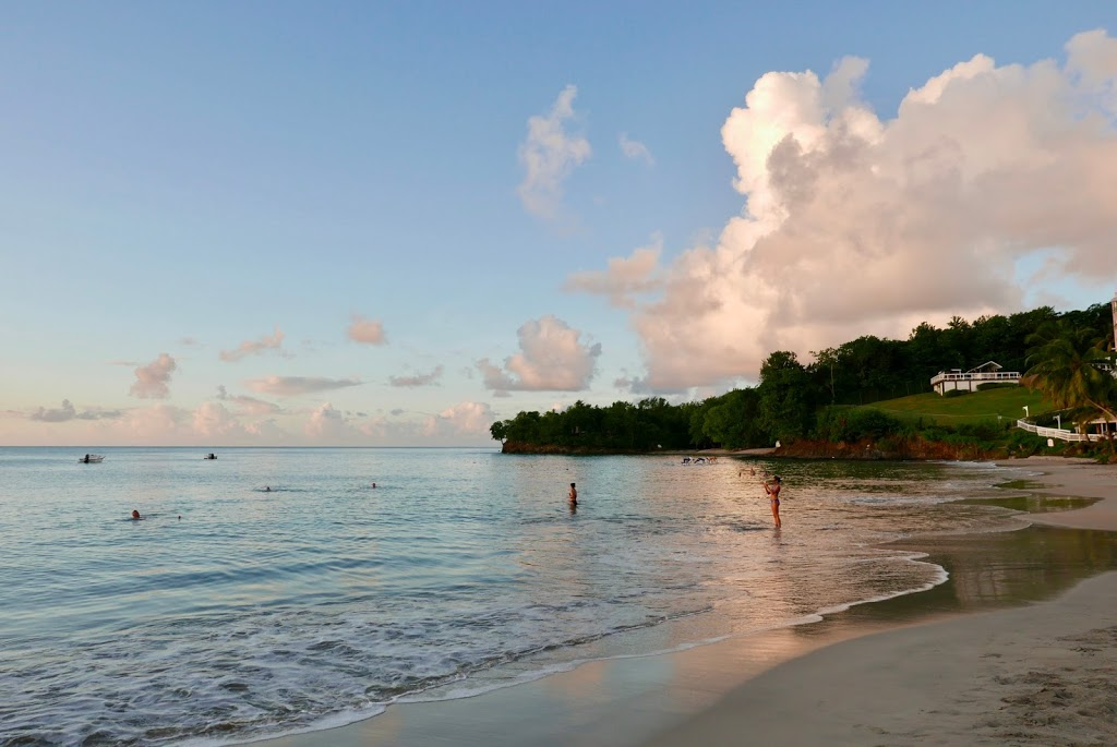 St. Lucia beach views