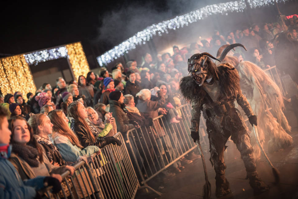 Austria Krampus holiday tradition