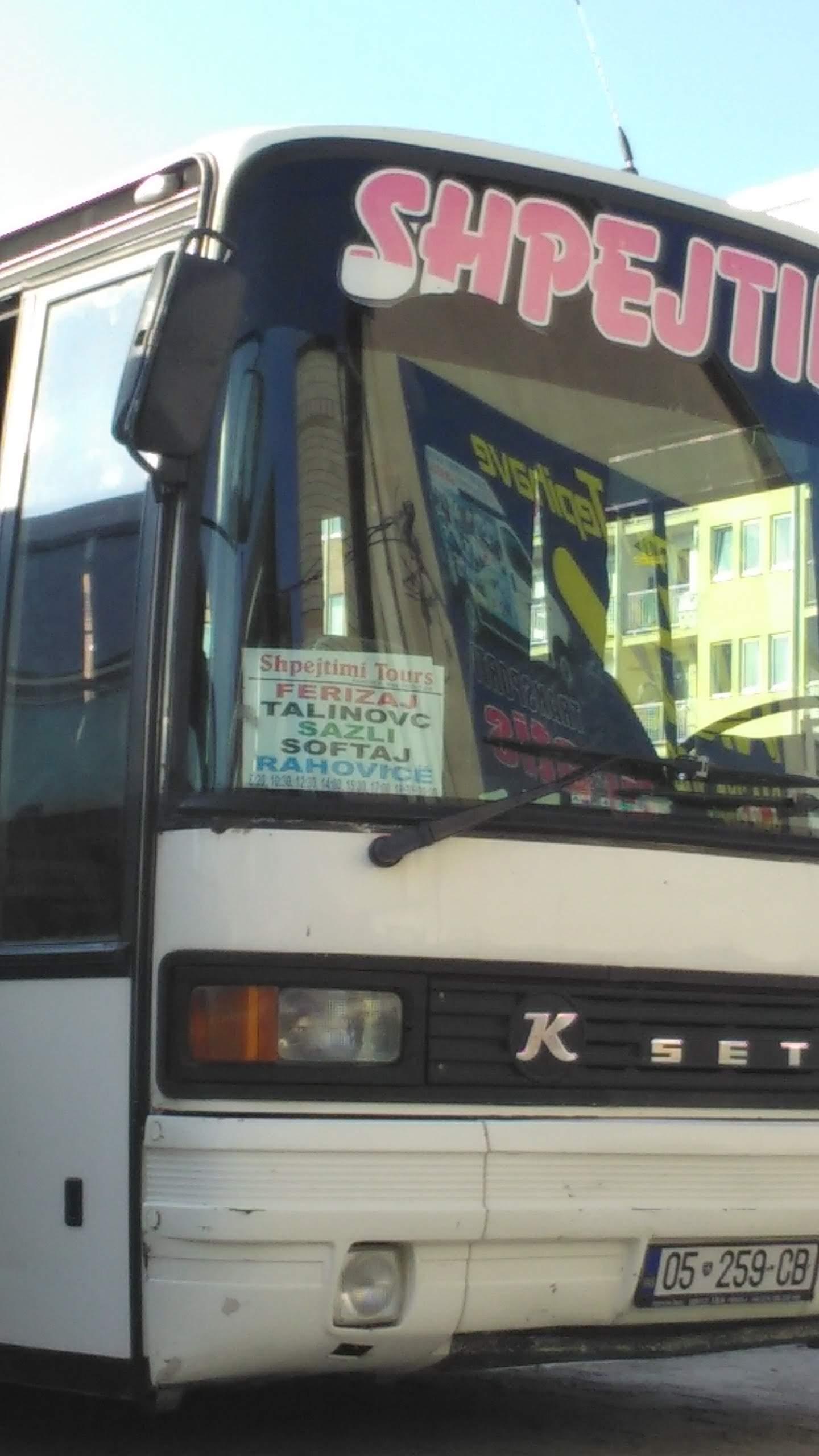 Kosovo bus experience