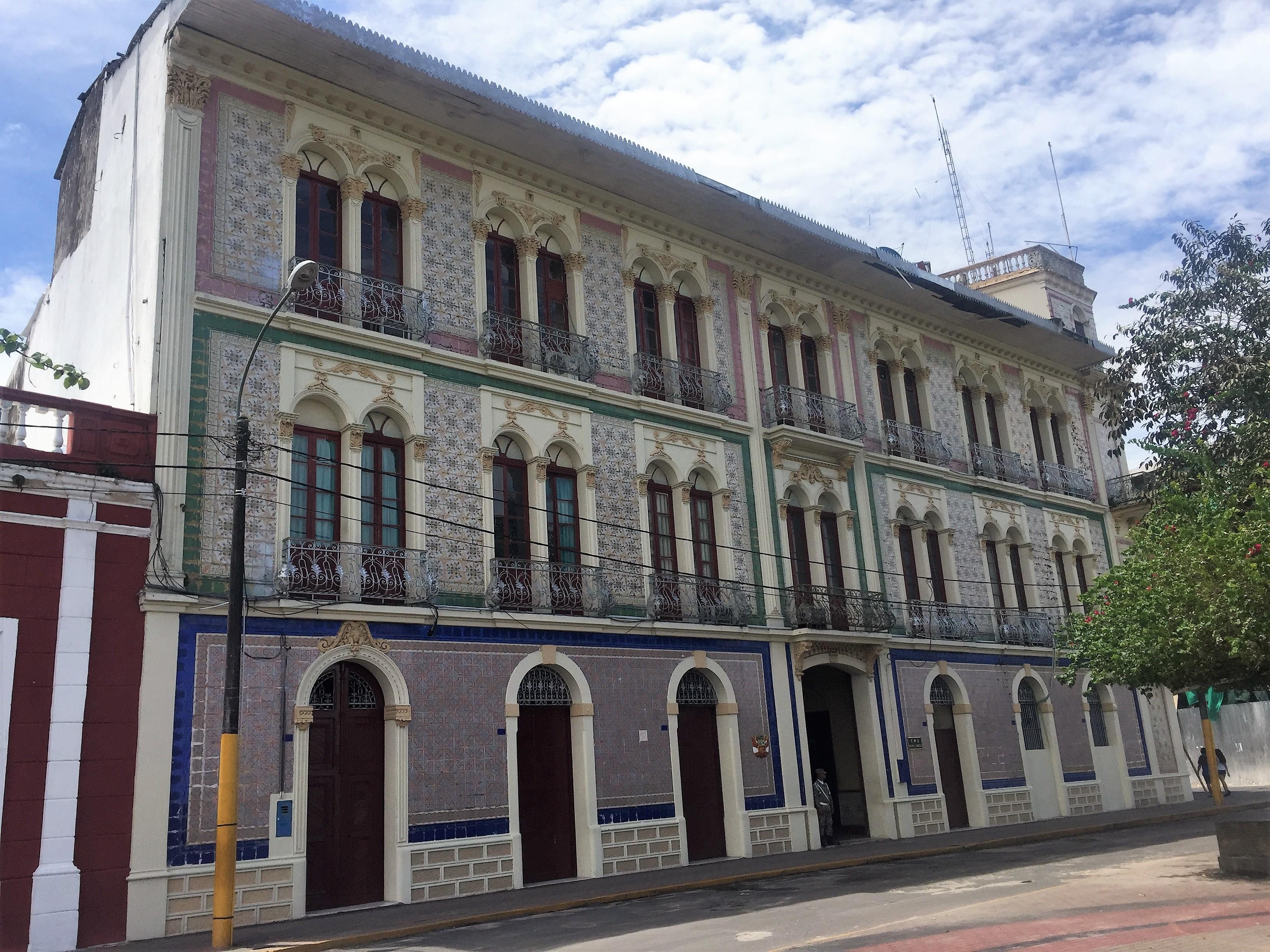 Riverfront Iquitos Peru
